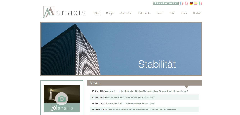 Anaxis Asset Management