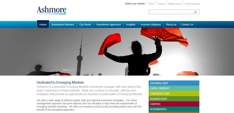 Ashmore Group plc