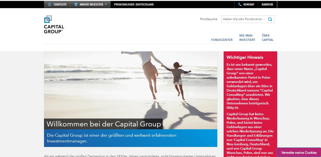 Capital Group AG