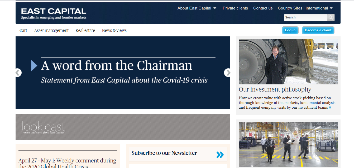 East Capital Asset Management S.A.