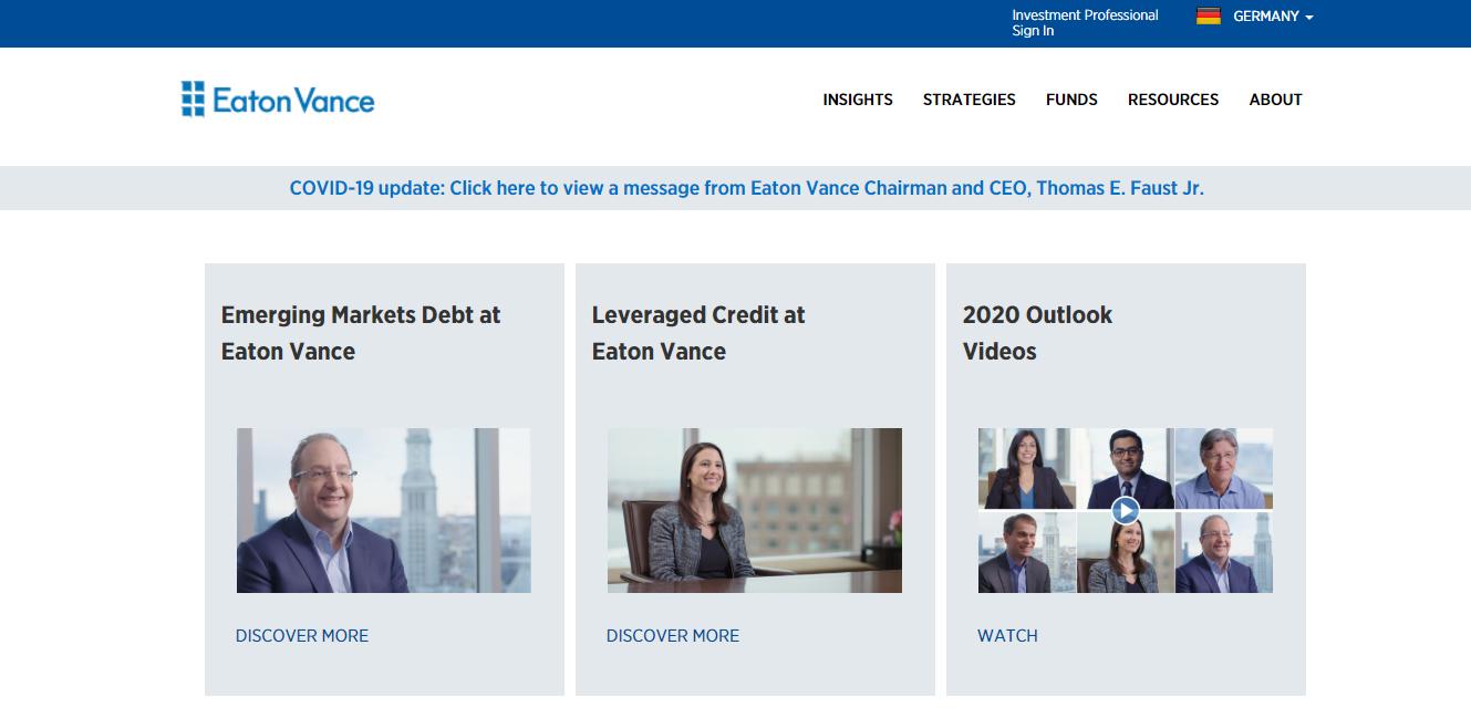 Eaton Vance Management (International) Limited