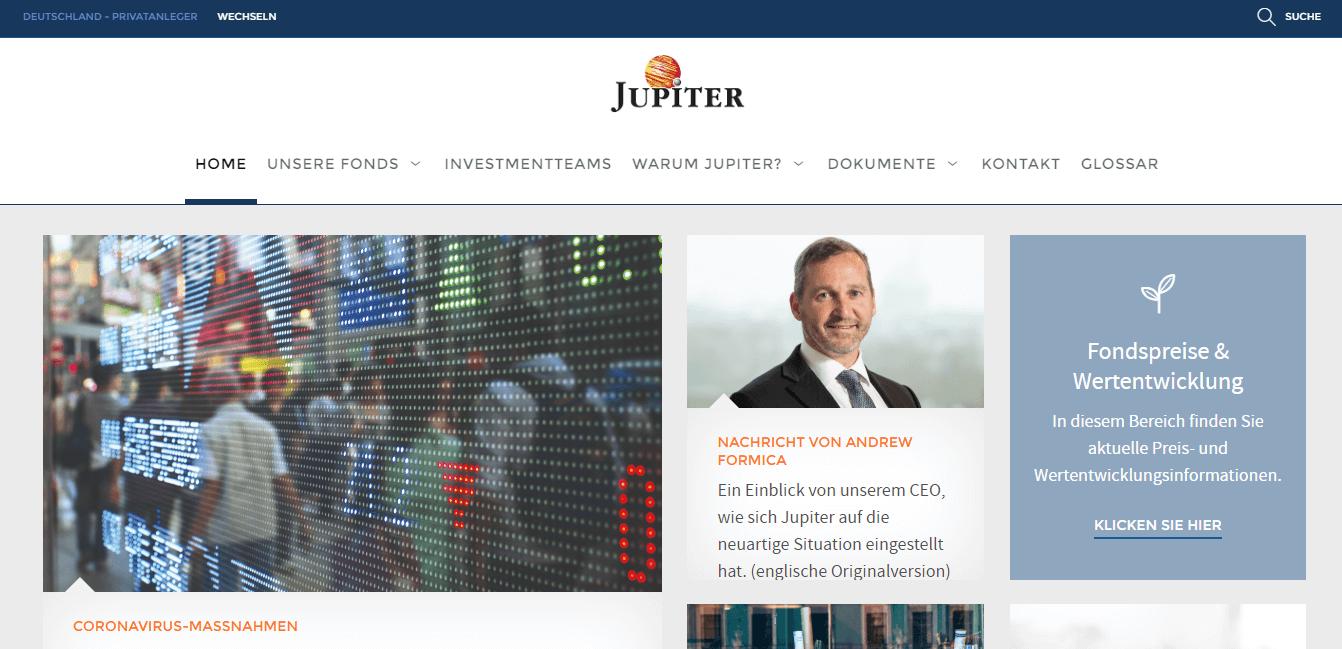 Jupiter Asset Management Limited Niederlassung Frankfurt