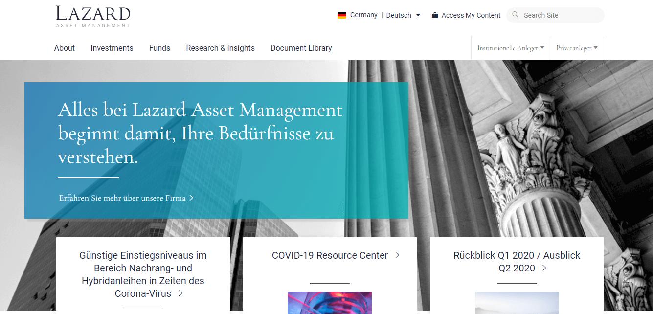 Lazard Asset Management (Deutschland) GmbH