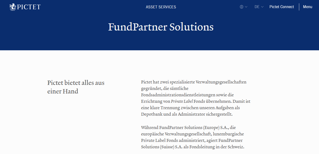 FundPartner Solutions (Europe) S.A.