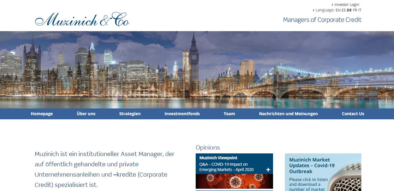Muzinich & Co. Limited. Niederlassung Deutschland