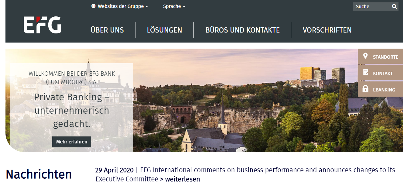 EFG Bank (Luxembourg) S.A.