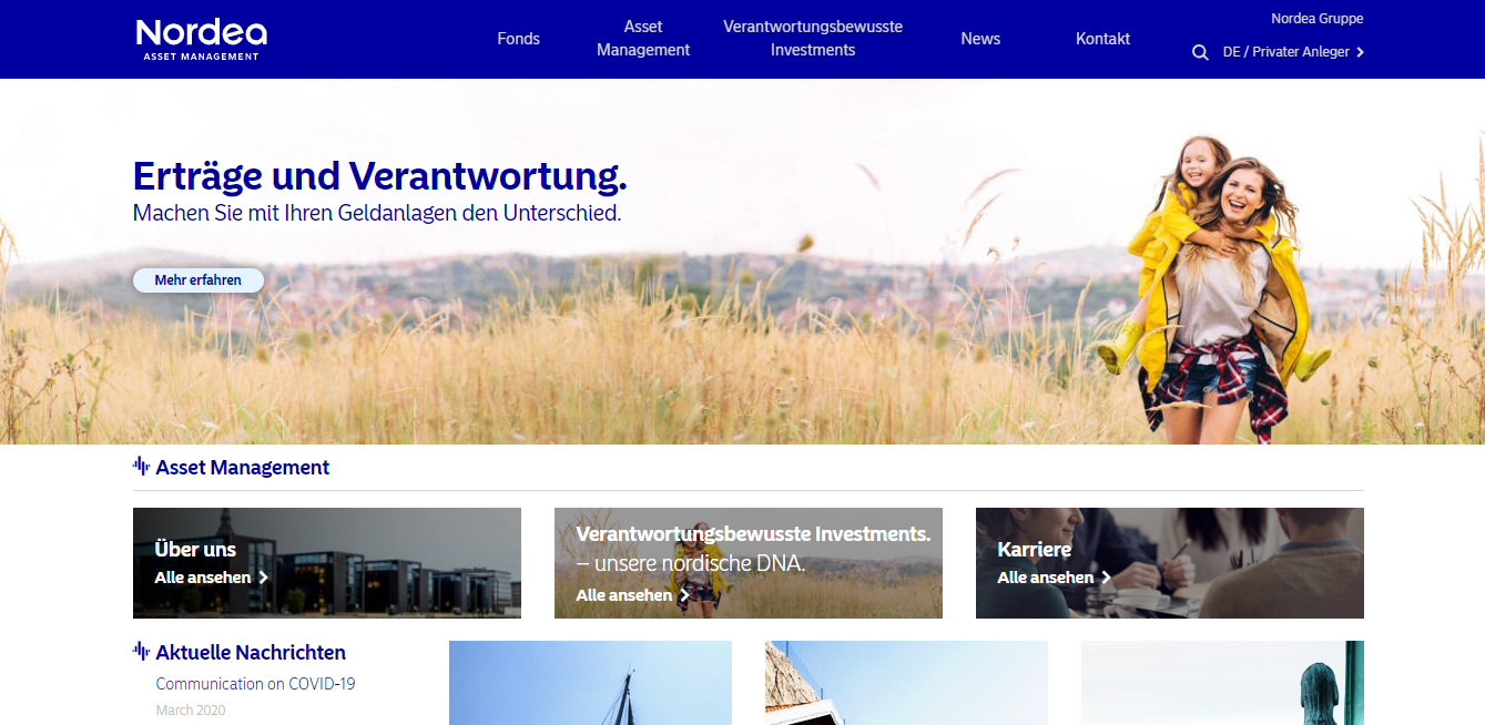 Nordea Investment Funds S.A. – German branch