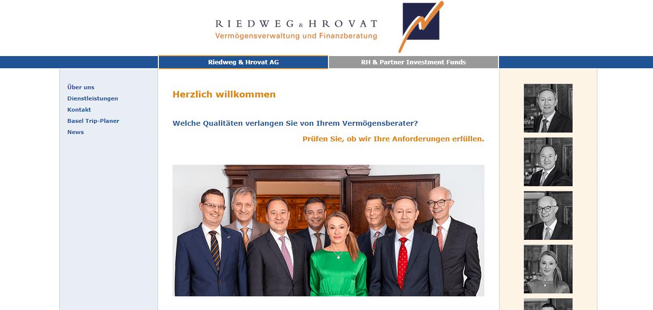 Riedweg & Hrovat AG