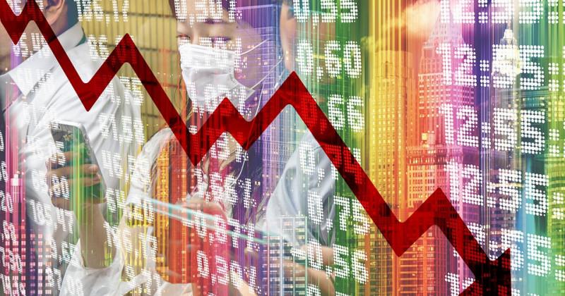 Aktienmarkt sinkt