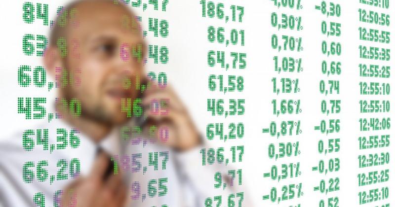 Berater und Börsentabelle