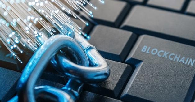 Tastatur und Blockchain