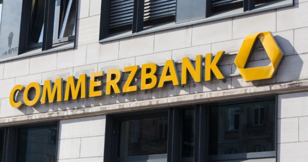 Commerzbank Firmenschild