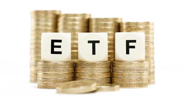 Münzen und ETF-Initialen