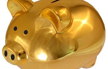 Gold Sparschwein