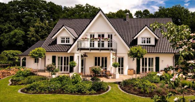 ein Familienhaus Landhausstil