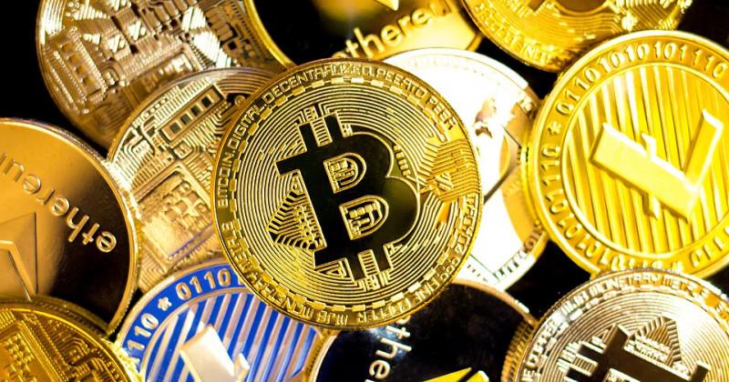 Kaskade der Kryptowährungen