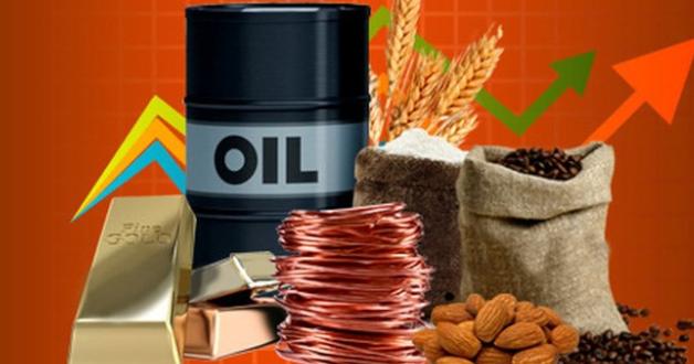 Commodities, im Hintergrund ein Graph