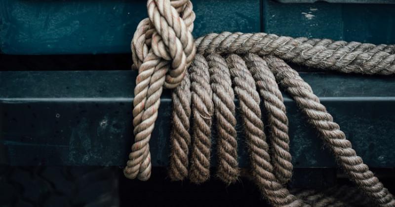 Schmales Seil