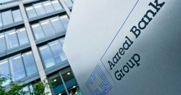Aareal Bank Firmenschild